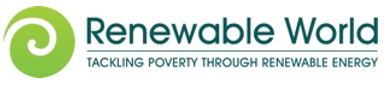 char 3 logo - Treadlighter supports the charity 'Renewable World'
