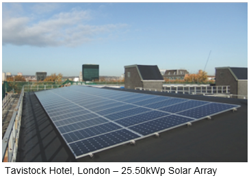 promotes 2 - UK Gov promotes Commercial Roof-Top Solar
