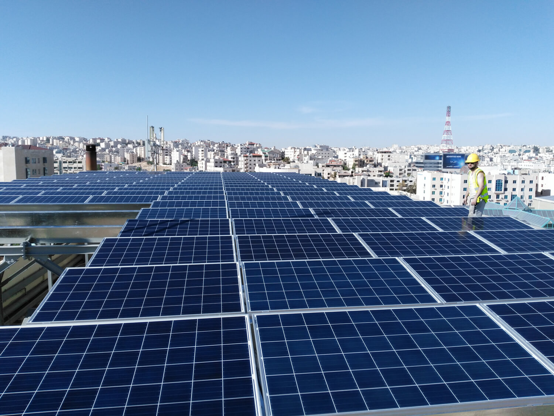 solar-panel-installation-hotel-Ibis-Amman Home