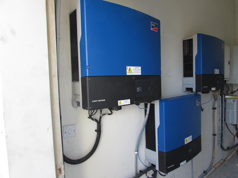 solar-panel-installation-hotel-Ibis- Amman Iverters